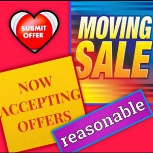 SALE! MOVING SOON, ACCEPTING ALL REASONABLE OFFERS